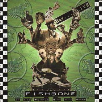 Live at the Temple Bar and More - Image: Fishbone Temple Bar