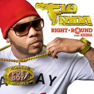Right Round - Image: Flo Rida Right Round Official Cover