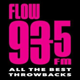 CFXJ-FM - Image: Flow 93 5 Logo 2015