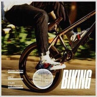Biking (Frank Ocean song) - Image: Frank Ocean Biking Cover