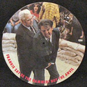 "Frankie Goes to Hollywood - Twelve-inch picture disc of ""Two Tribes"" with video image"