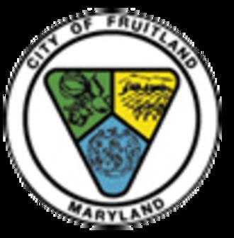 Fruitland, Maryland - Image: Fruitland maryland seal