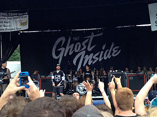The Ghost Inside (band) American metalcore band