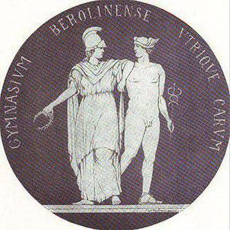 Evangelisches Gymnasium zum Grauen Kloster - Image: Graues Kloster Berlin Logo