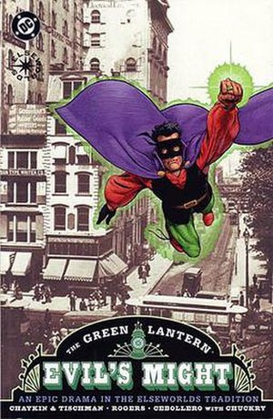 Green Lantern: Evil's Might - Image: Green Lantern Evils Might