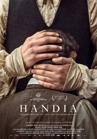 Giant (2017 film) - Spanish release poster
