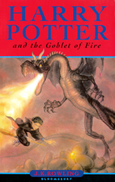 Picture of a book: Harry Potter And The Goblet Of Fire