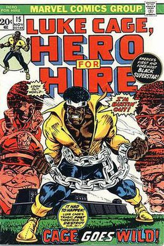 Billy Graham (comics) - Image: Hero For Hire 15