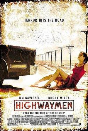 Highwaymen (film) - theatrical release poster