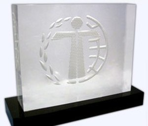 Humanitas Prize - The Humanitas Prize trophy
