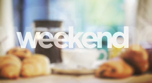 Weekend (talk show) - Image: ITV Weekend Logo