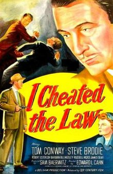 I Cheated the Law poster.jpg