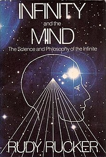 Infinity and the Mind (Rudy Rucker book) cover.jpg