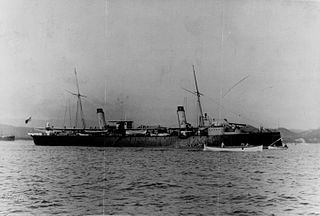 Italian cruiser <i>Urania</i>