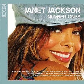 Icon: Number Ones - Image: Janet Jackson Icon