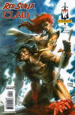 Claw the Unconquered - Image: Jimlee redsonja claw 04
