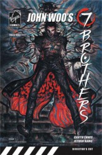 Liquid Comics - Image: John Woo's 7 Brothers Cover by Amano
