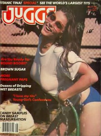 Juggs - First issue, August 1981
