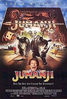 <i>Jumanji</i> 1995 film by Joe Johnston