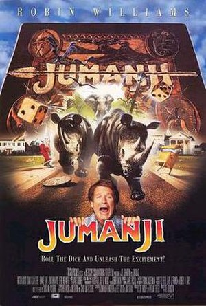 Jumanji - Theatrical release poster