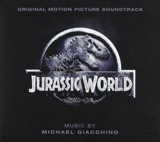 <i>Jurassic World: Original Motion Picture Soundtrack</i> 2015 film score by Michael Giacchino