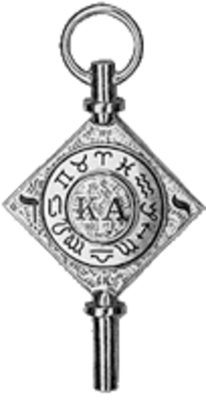 Kappa Alpha Society - Image: Kapkeycolour