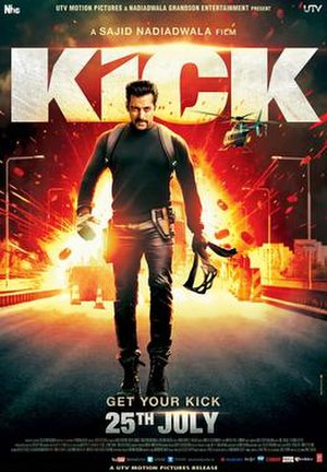 Kick (2014 film) - Theatrical release poster