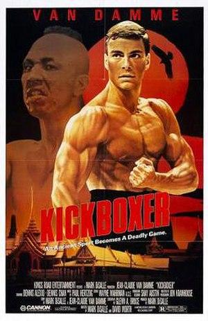 Kickboxer (1989 film) - Image: Kickboxer poster