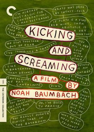 Kicking and Screaming (1995 film) - Image: Kicking and screaming DVD 349