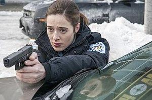 Kim Burgess - Marina Squerciati as Officer Kim Burgess