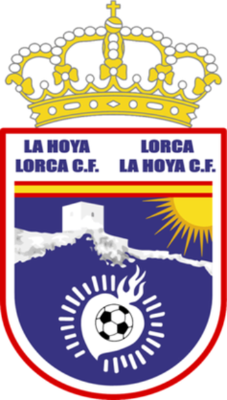 Lorca FC - Logo used from 2010 to 2016.