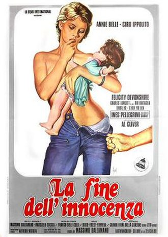 Blue Belle - Italian theatrical release poster