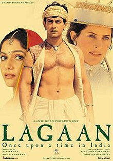 Lagaan: Once Upon a Time in India (2001) SL DM - Aamir Khan, Gracy Singh, Rachel Shelley, Paul Blackthorne, Suhasini Mulay, Kulbhushan Kharbanda, Raghuvir Yadav, Rajesh Vivek, Zutshi, Daya Shankar Pandey, Javed Khan, Shri Vallabh Vyas