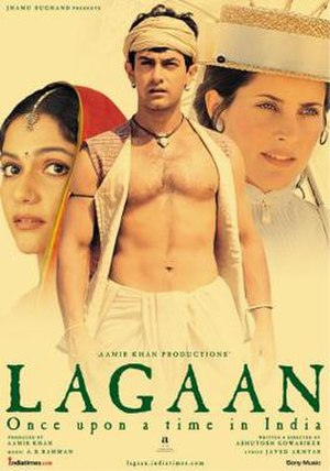 Lagaan - Theatrical release poster