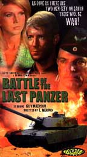 Battle of the Last Panzer - VHS cover of 'Battle of the Last Panzer'