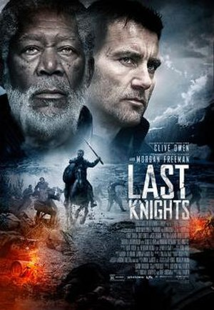 Last Knights - Theatrical release poster