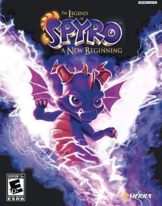 The Legend of Spyro: A New Beginning - Image: Legendof Spyro cover PS2