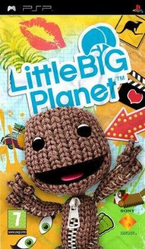 LittleBigPlanet (2009 video game) - Image: Littlebigplanet psp box