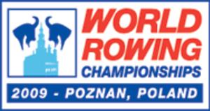 2009 World Rowing Championships - Image: Logo CM aviron 2009