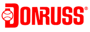 Donruss - Arguably Donruss' most-recognizable logo, used from 1986 to 1995