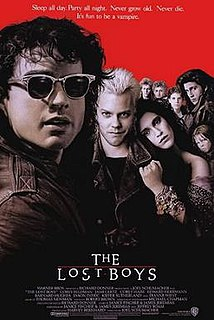 <i>The Lost Boys</i> 1987 film by Joel Schumacher, Richard Donner