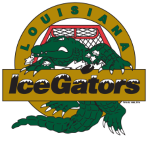 Louisiana IceGators (ECHL) - Image: Louisiana Ice Gators