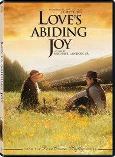<i>Loves Abiding Joy</i> 2006 television film directed by Michael Landon, Jr.