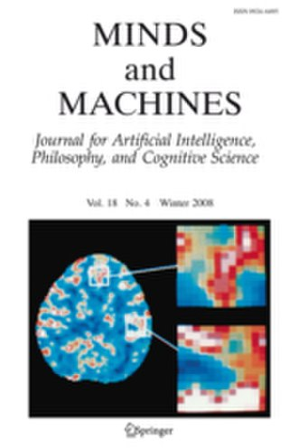 Minds and Machines - Image: Ma M2010cover