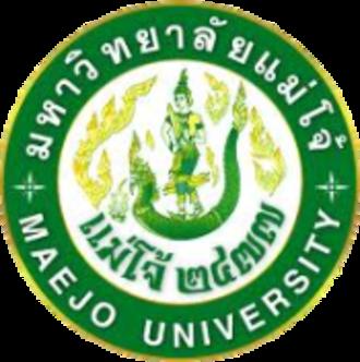 Maejo University - Image: Maejo University Logo