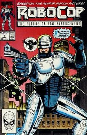 RoboCop (comics) - Cover of the 1st issue