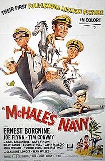 <i>McHales Navy</i> (1964 film) 1964 film by Edward Montagne