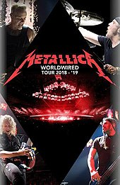 Metallica - Worldwired Tour 2020  May 10 WorldWired Tour   Wikipedia