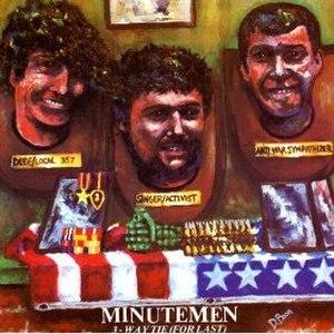 3-Way Tie (For Last) - Image: Minutemen 3waytie