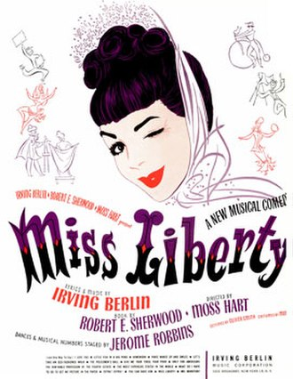 Miss Liberty - Sheet music cover